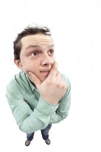 guy pondering