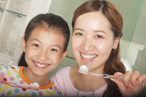 caring for your children's teeth